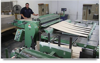 Rotary Board Slitting