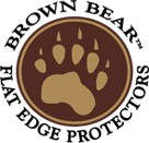 Circle's Brown Bear Flat Edge Protectors